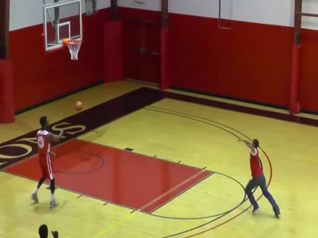 College Student Nails 4 Shots in a Row to Win $10,000 Tuition  (VIDEO)