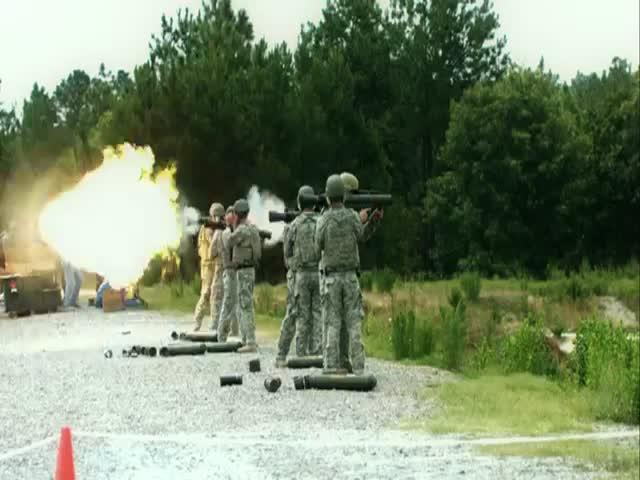 Firing Heavy Weapons in Slow Motion  (VIDEO)