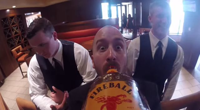 Wedding Photos Taken Using the Fireball Camera