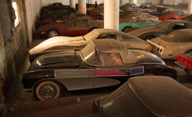 An Old Collection of Neglected Corvettes