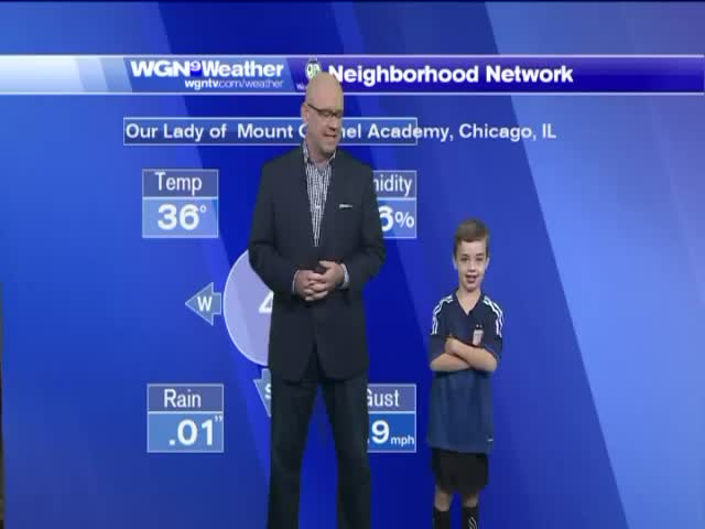 Kid Does Morning Weather Forecast and Steals the Show