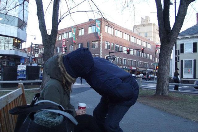 Amusing Kissing Moments