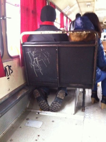 Buses Aren't Designed for Passengers Like This