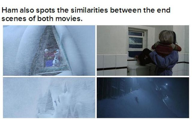 "Uncanny Similarities between ""Frozen"" and ""The Shining"""