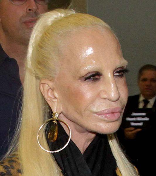 Donatella Versace in Brazil