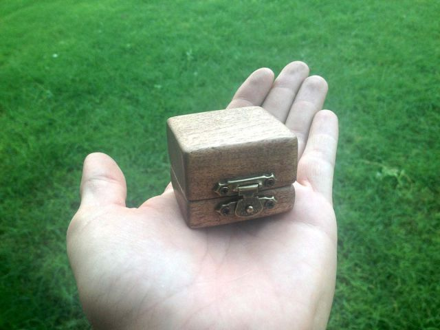 A Handmade Treasure Chest Proposal Story
