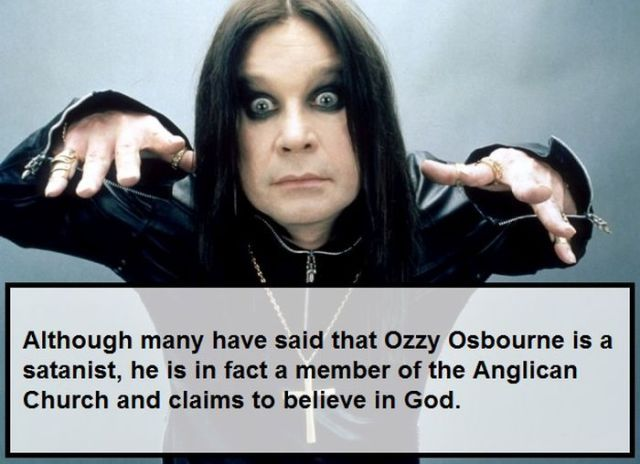 Arbitrary Facts about Famous Actors and Musicians