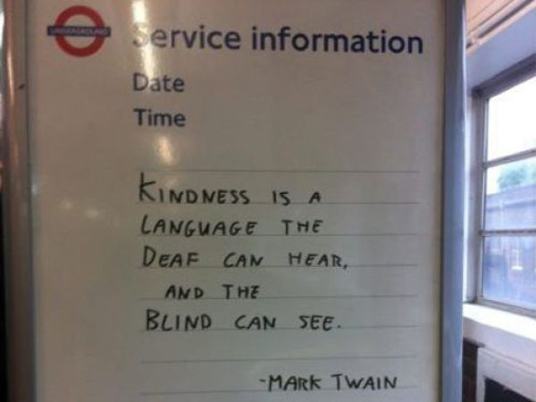 Kind People Make the World a Better Place