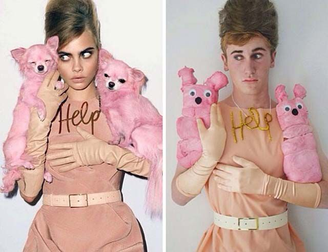 One Teenager's Humorous Imitations of Famous People