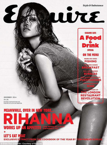 Rihanna's Risqué Esquire Photo Shoot Is Super-Hot