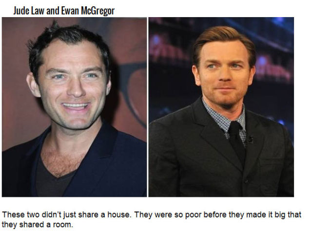 Stars and Their Equally Famous Past Roommates