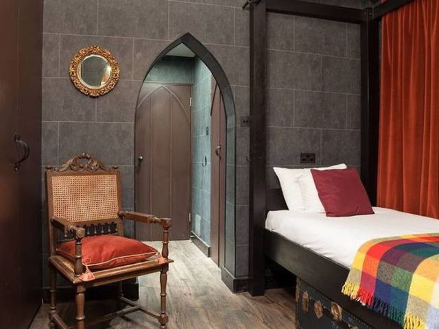 A Quirky Harry Potter Themed Hotel in London