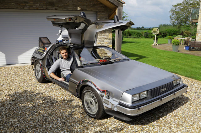 "A Replica ""Back to the Future"" Car That Is Awesome"