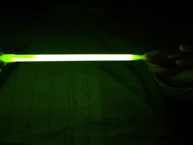 Glow Stick Blows Up in Kid's Face After He Microwaves It