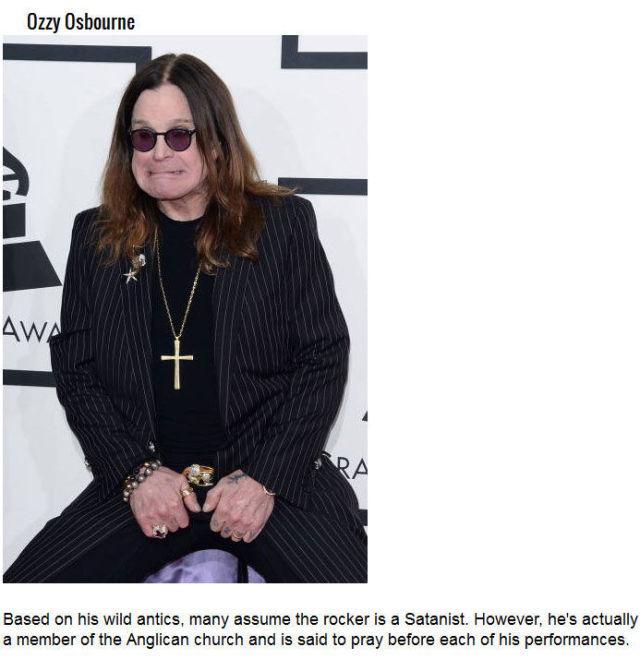 A Few Lesser-Known Celebrity Secrets
