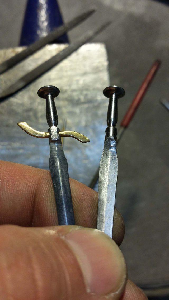 A Funky Homemade Dagger