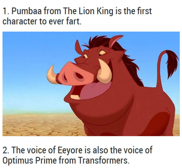 Surprising Facts about Disney Movies