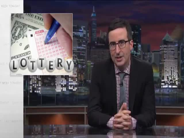 John Oliver's Take on the Lottery