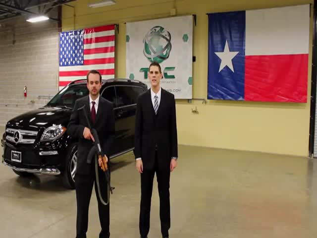What It's Like to Be Shot At with an AK-47 in a Mercedes!