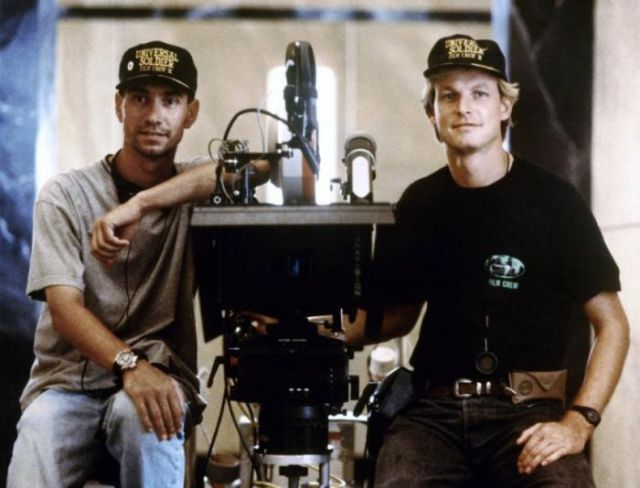 "Behind-the-scenes Photos from the Set of ""Universal Soldier"""