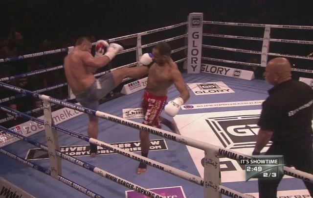Look at This Kickboxer