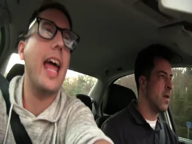 Dad Flips Out on Son Asking Ridiculous Questions in the Car  (VIDEO)
