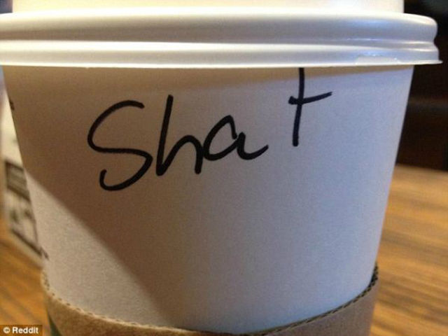 Apparently Your Name Doesn't Really Matter in Starbucks