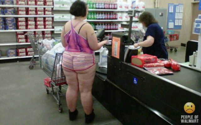 The Buttcracks of Walmart