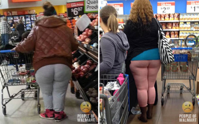 The Buttcracks of Walmart