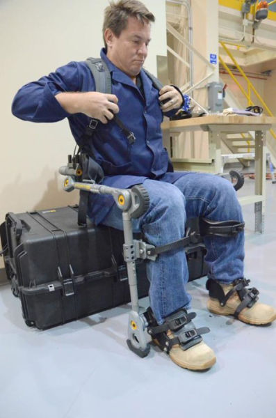 A Working Exoskeleton That Is the Way of the Future