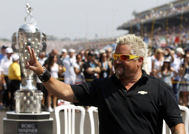 Guy Fieri Is Unrecognisable Without His Trademark Hair