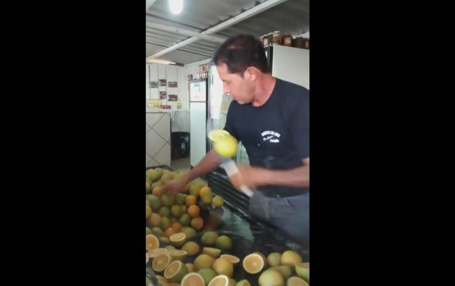 Meet the Real Life Fruit Ninja