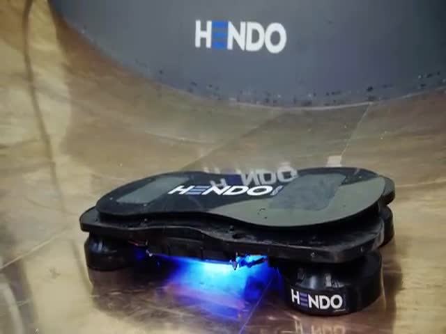 Tony Hawk Rides the World's First Real Hoverboard