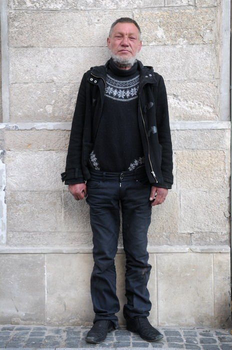 The Best Dressed Homeless Man in the World