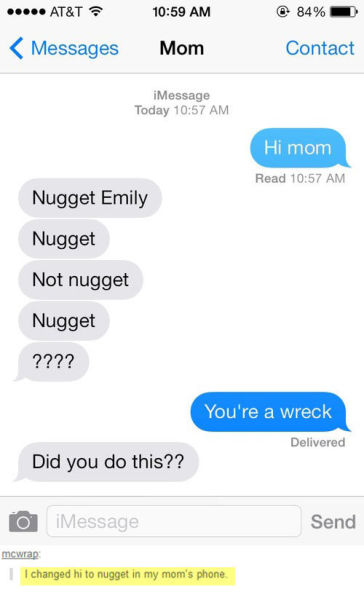 The Most Hilarious Text Message Conversations Ever