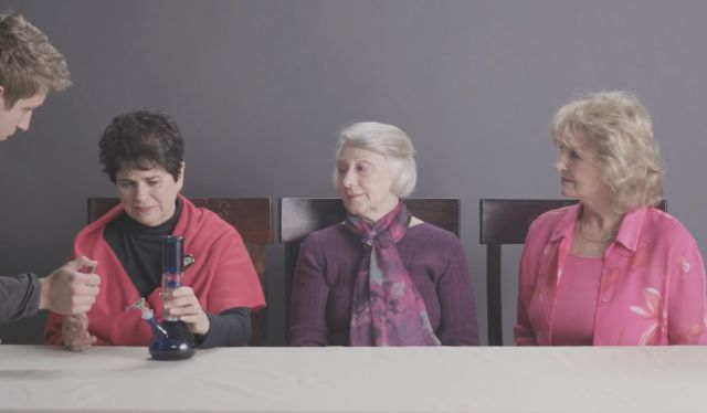 Three Grandmas Smoke Marijuana for the First Time