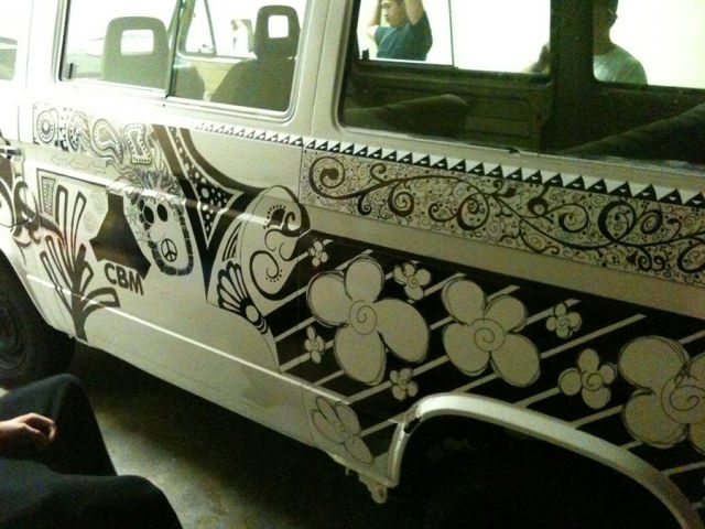 A Cool Sharpie Makeover of a VW Van