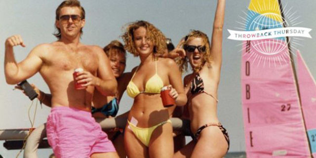 A Photo Flashback of Springbreak in the 90s