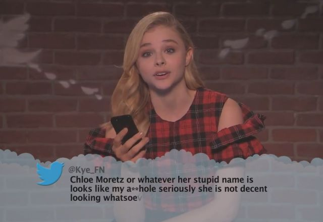 Celebrities Reading Mean Tweets about Themselves #8