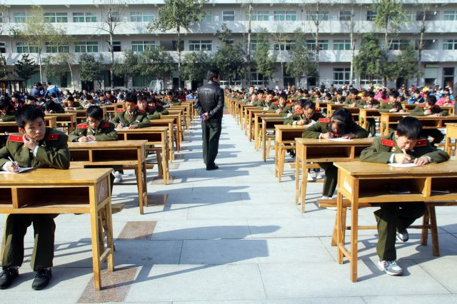 Exams Are a Serious Business in China