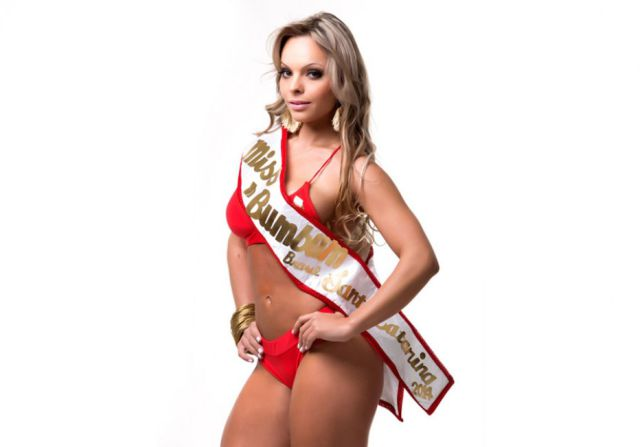 The 2014 Winner of Miss BumBum Brasil
