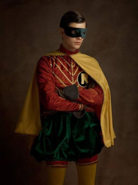 What Superheroes Would Have Looked Like in the 16th Century
