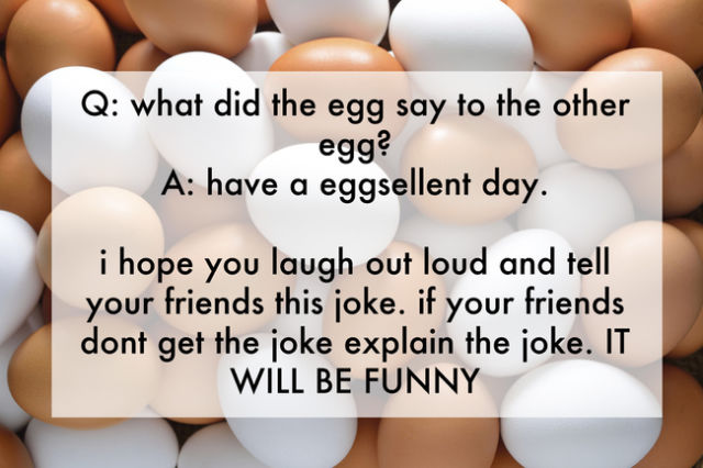 Amusing Jokes Made Up by Kids