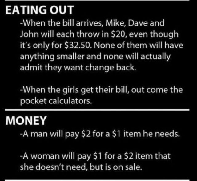 How Men Do Things vs. How Women Do Things