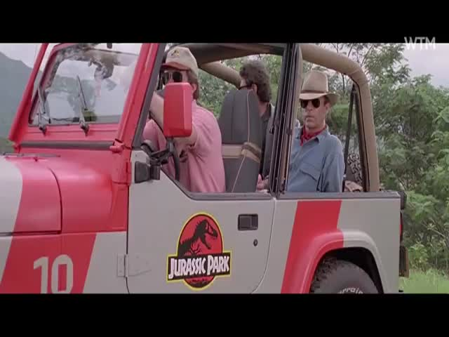 A Hilarious Mashup of 'Jurassic Park' and 'Ace Ventura'
