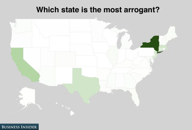 America Rates Itself State by State