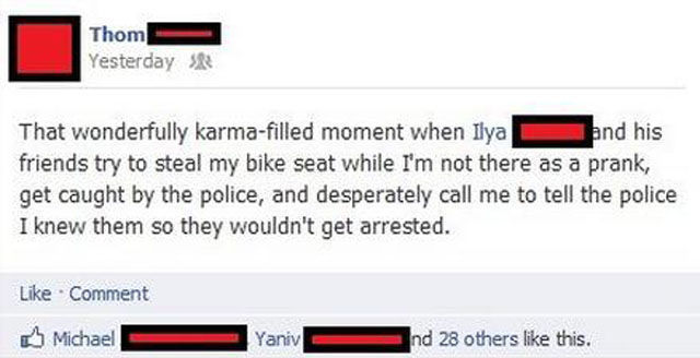 That's Karma Dude