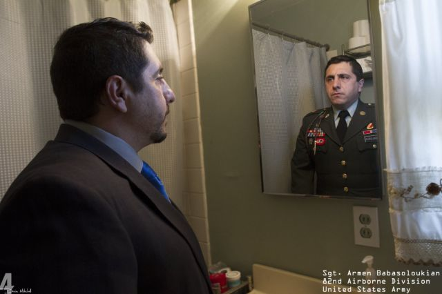 The Person inside the Military Uniform