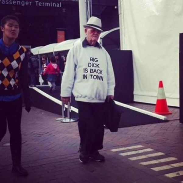 Old People Rocking Surprisingly Awesome Clothes