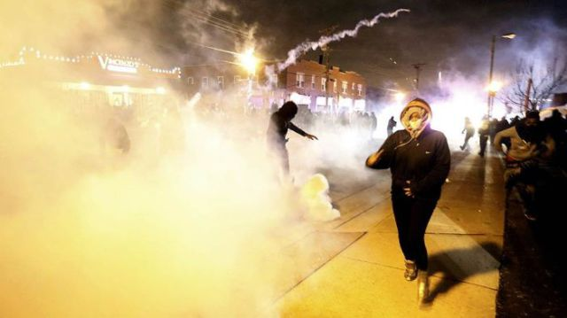 Rioters Create Chaos on the Streets of Ferguson